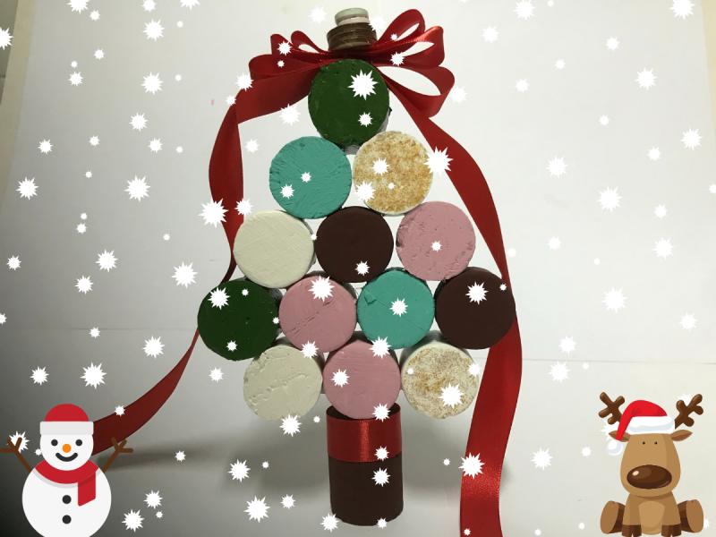 Как да си направим Коледна елха от стиропор?