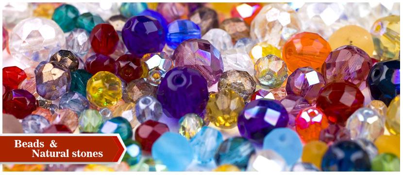 Χάντρες και φυσικές πέτρες