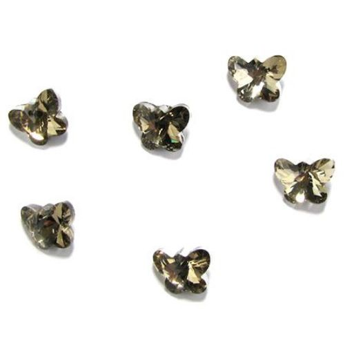 Crystal charm  jewellery making 14.5 x 11.5 x 7.5 mm