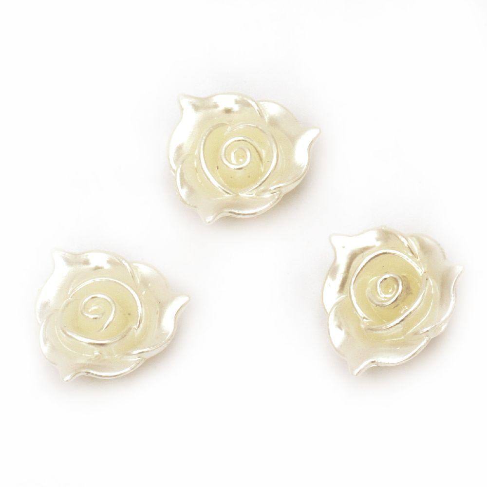 Perlă tip floare  21x8 mm gaură 2 mm -20 grame ~ 18 bucăți