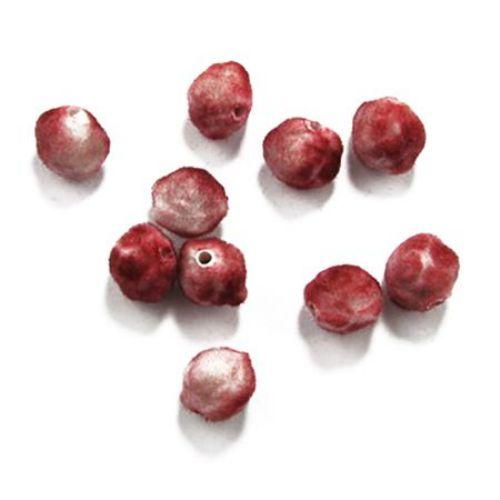 Acrylic beads rose 13 x 11 mm