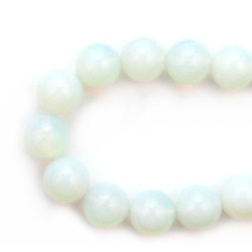 Perle de coarde Piatră semi-prețioasă PIATRA DE LUNA (OPAL) Bile 18mm ~ 24 buc