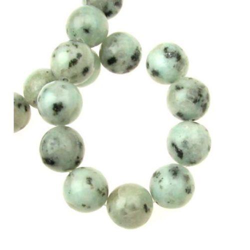 Perle de șiruri Bile de Lotus semi-prețioase din piatră semi-preț 12mm ~ 32 bucăți