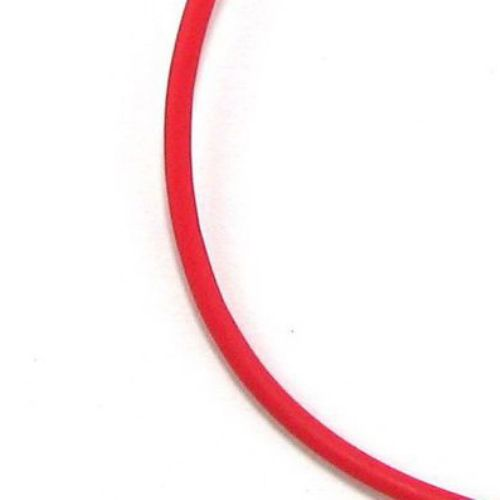 Silicone cord 2 mm red -5 meters