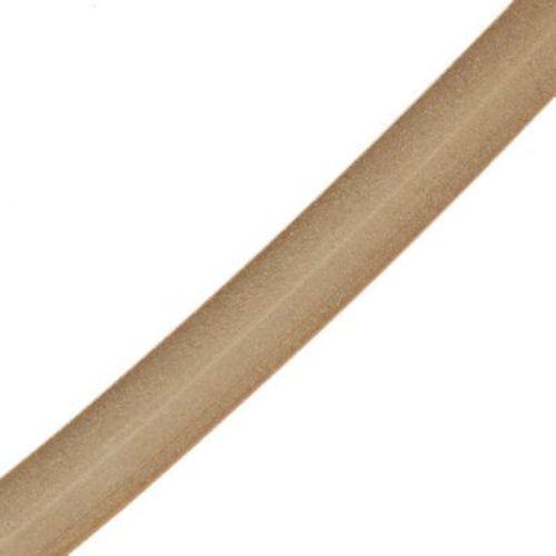Κορδόνι σιλικόνης 3 mm ματ πορτοκαλί -5 μέτρα