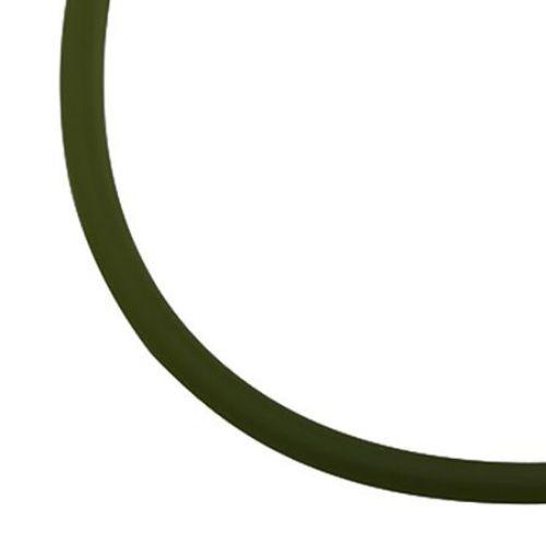 Κορδόνι σιλικόνης ματ 2 mm σκούρο πράσινο -5 μέτρα