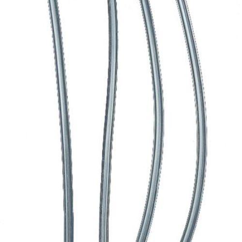 Κορδόνι σιλικόνης διαφανές 2 mm, τρύπα 1 mm -5 μέτρα