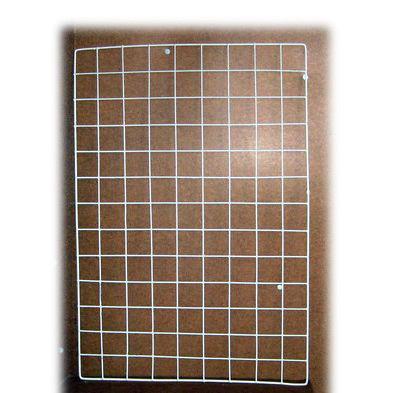 Grătar metalic cu cadru 65x45 cm