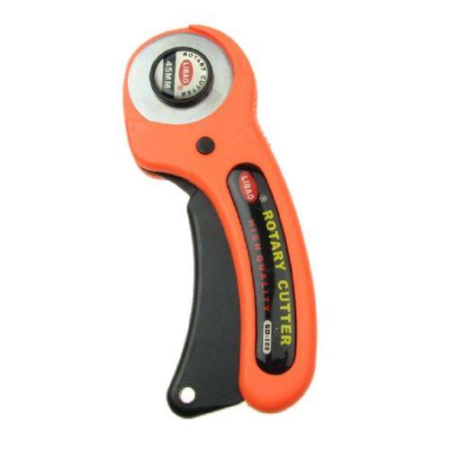 Ротационен макетен нож с диаметър 45 мм висококачествена стомана волфрам карбид с автоматично заключване