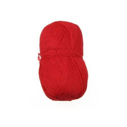 Прежда ВИДЛОН здрава червена -100 грама