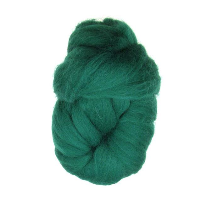 Прежда лента вълна зелена 100 грама -4 метра
