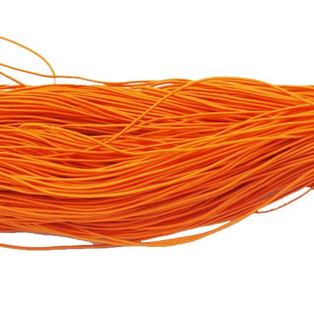 Λάστιχο στρόγγυλο 1 mm πορτοκαλί ~ 22 μέτρα