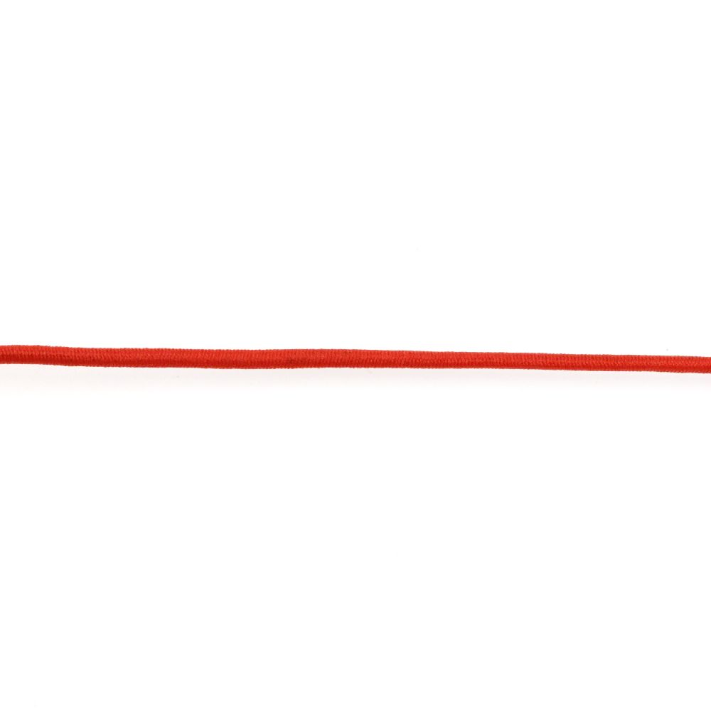 Elastic 2,5 mm roșu -3 metri