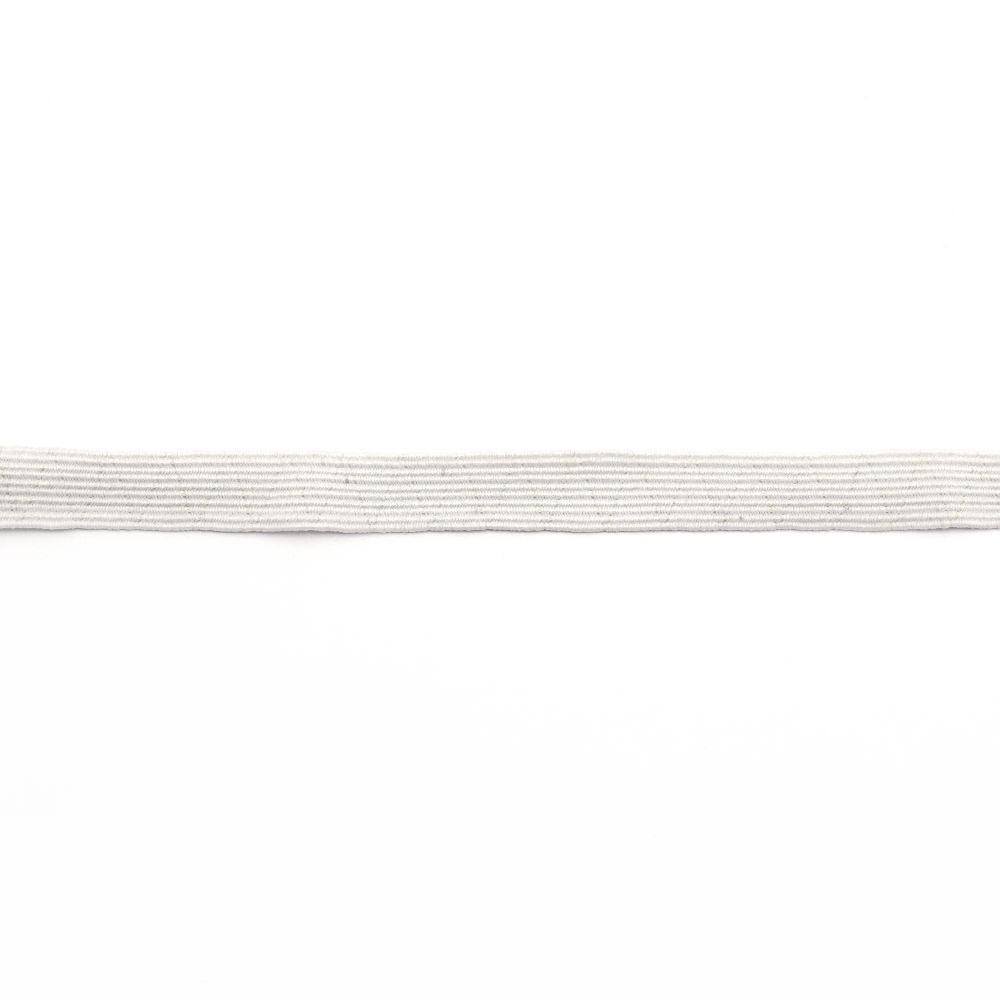Elastic 10 mm alb -2 metri