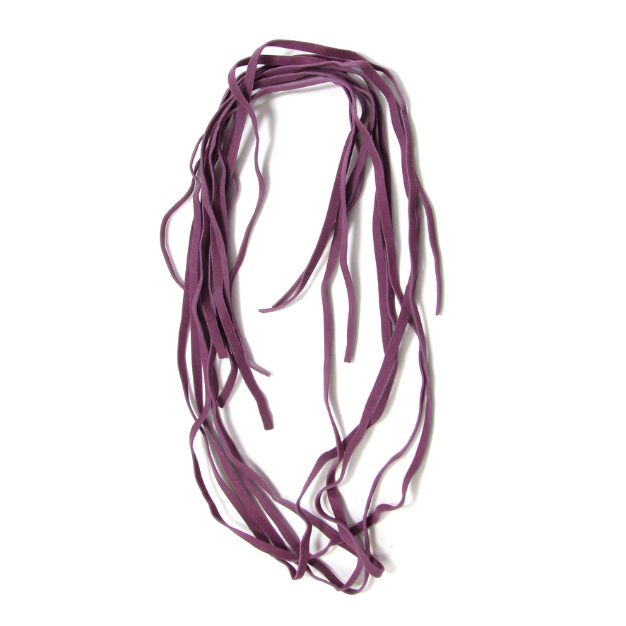 Faux Suede Jewelry Cord 5 mm purple light -10 pieces x 1 meter