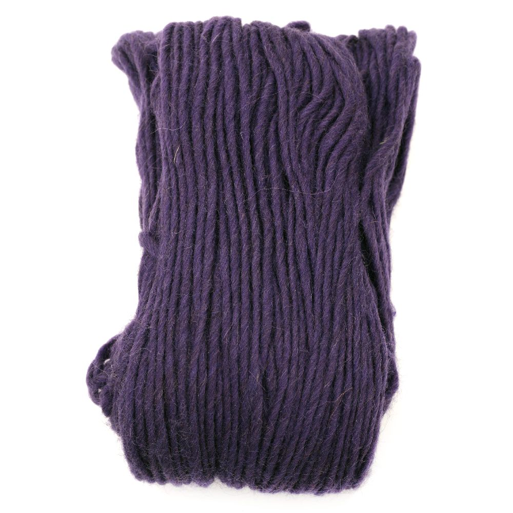 Прежда Амалиа 100 процента вълна лилава -100 грама