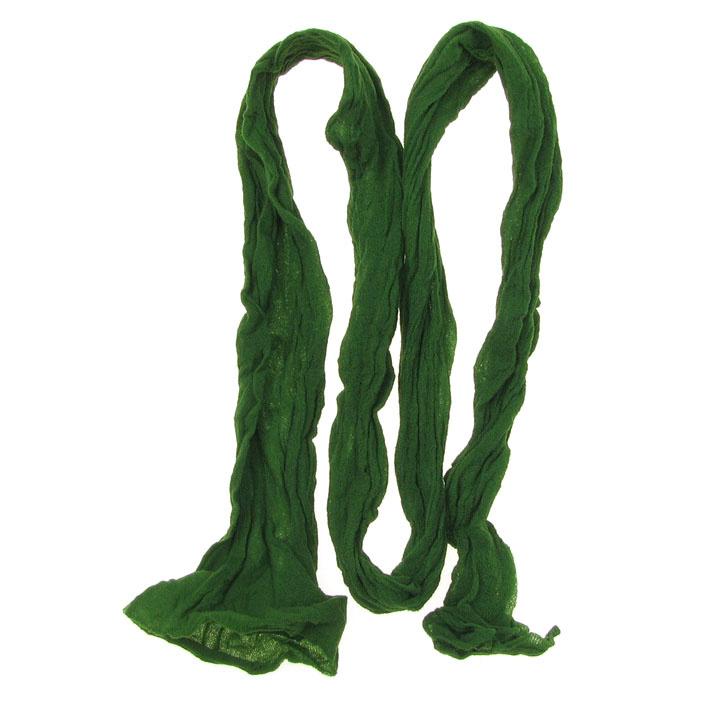 Полиестерен ръкав за найлонови цветя /тип чорапогащник/ зелен -пакет 5 броя