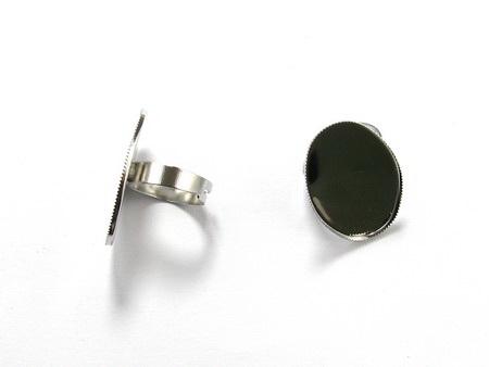 Метална основа за пръстен регулиращ 19 мм основа 20 мм -2 броя