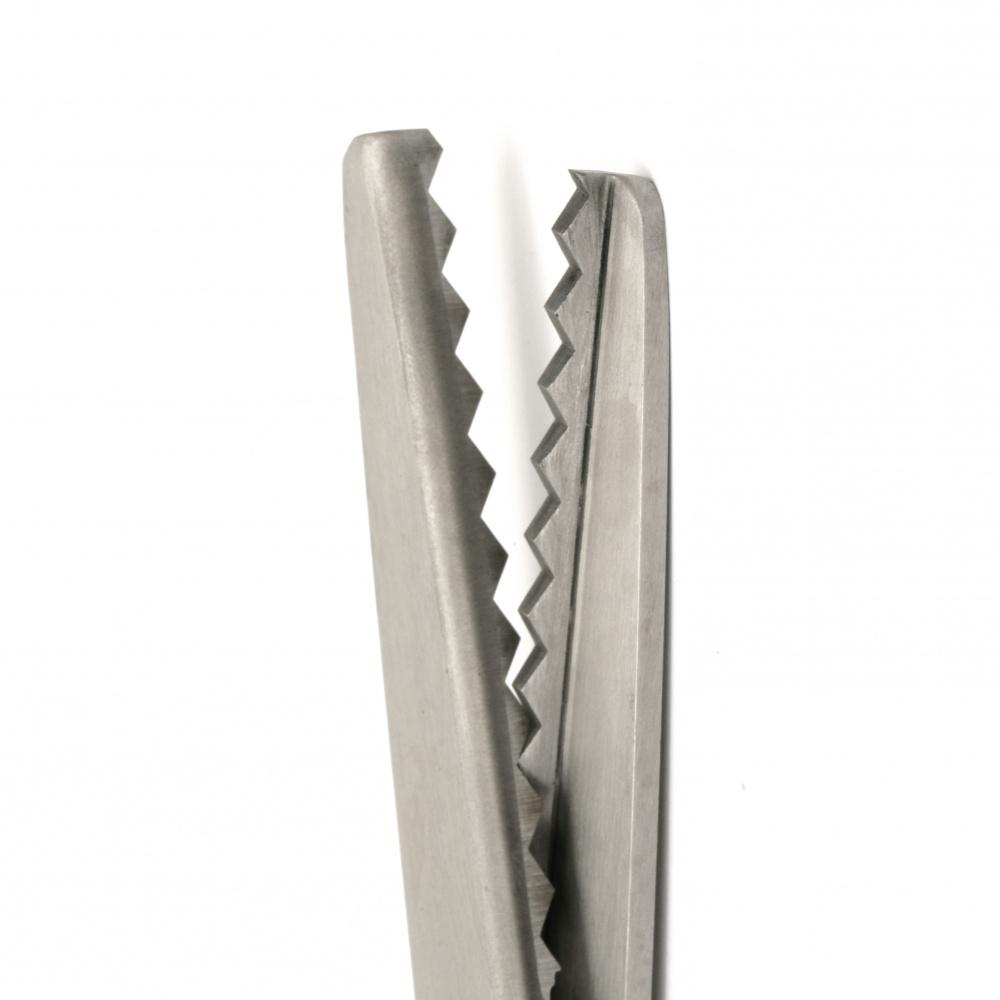 Ψαλίδι  από ανοξείδωτο ατσάλι  για διακόσμηση 7 χιλιοστών τριγώνου