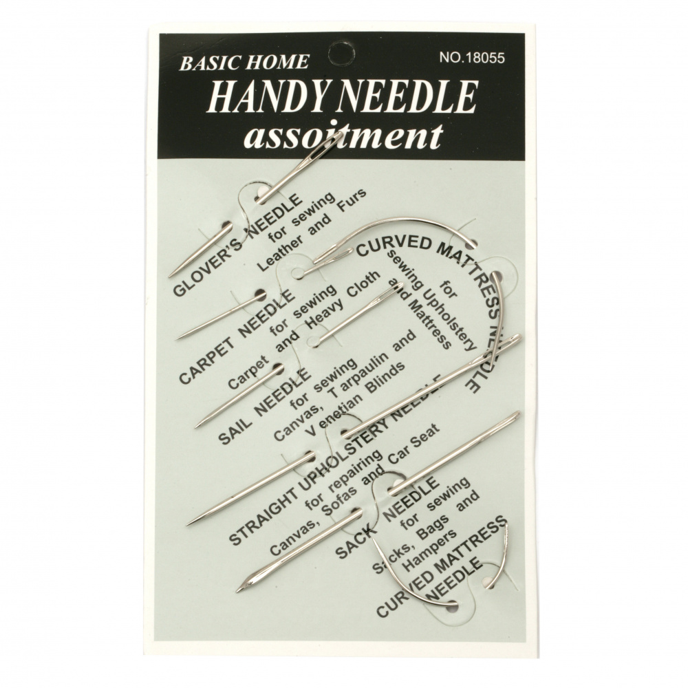 Upholstery needles -7 pieces