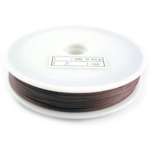 Jewellery steel cord  0.38 mm