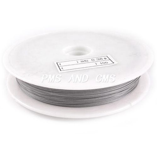 Silver Jewellery steel cord  0.60 mm