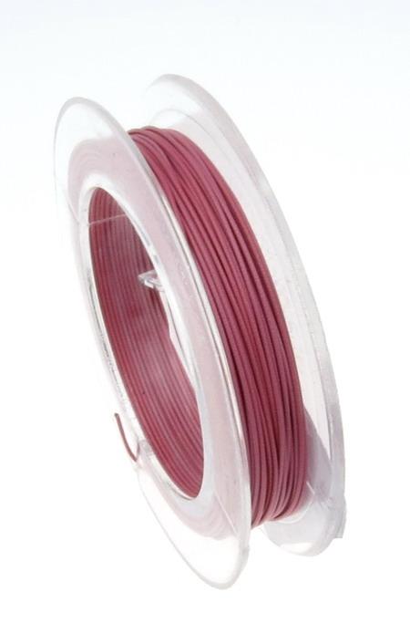 Pink Jewellery steel cord  0.45 mm