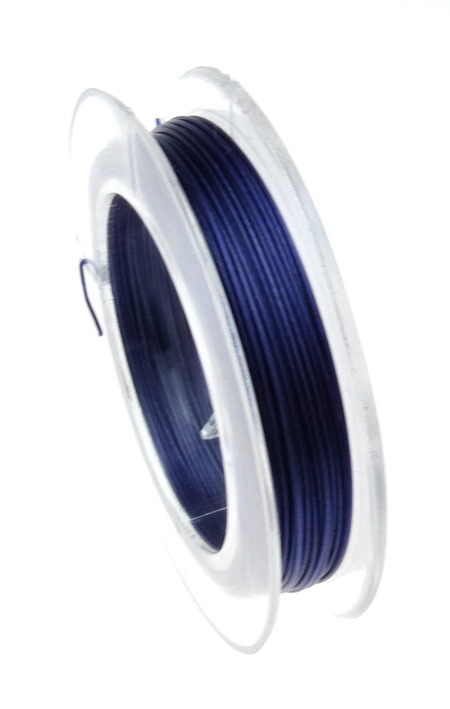 Purple Jewellery steel cord  0.45 mm