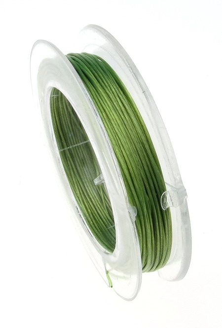 Green Jewellery steel cord  0.45 mm