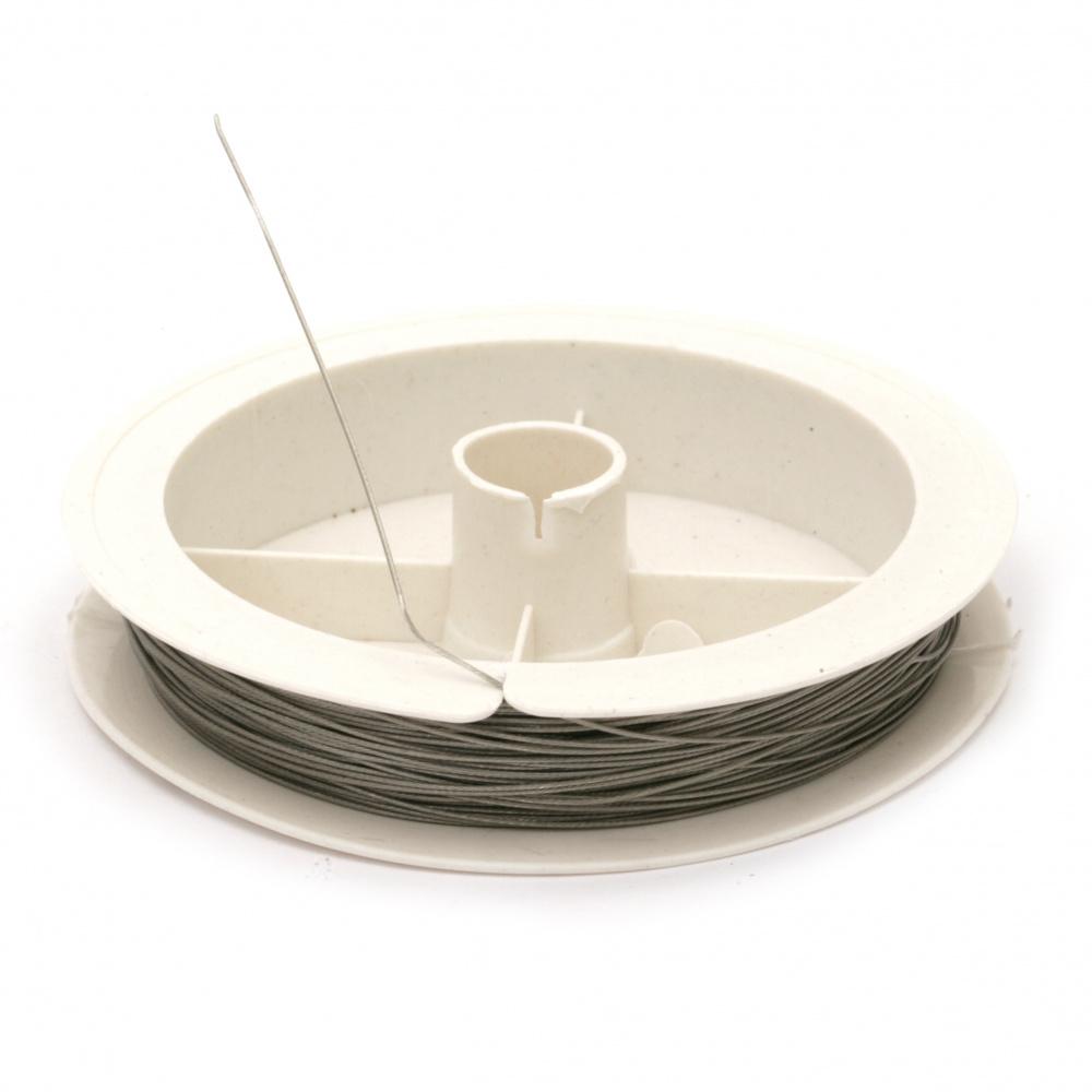 Корда стоманена 0.50 мм цвят сребро ~22 метра