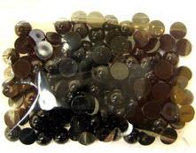 Plastic Eyes hemisphere for Decorations, DIY Crafts Handmade Accessories, 6 mm black -10 g - 220 pieces