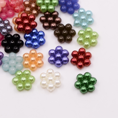 Pearls for gluing 8 x 9 x 3 mm
