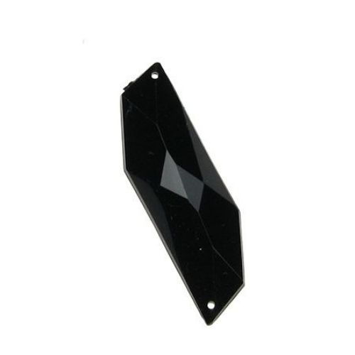 Acrylic crystals for clothing 14 x 46 mm