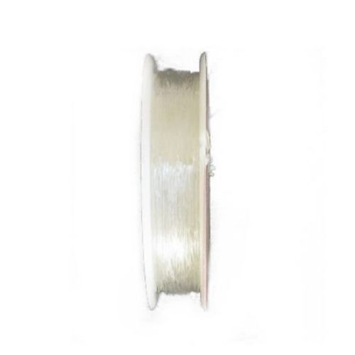 Elastic Fibre Wire, 0.6 mm transparent ~ 11 meters