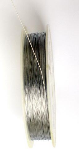 Cablu de oțel 0,38 mm argintiu
