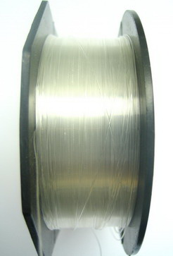 Jewelry Nylon Wire, Beading Thread, Clear 0.35 mm ~ 90 meters