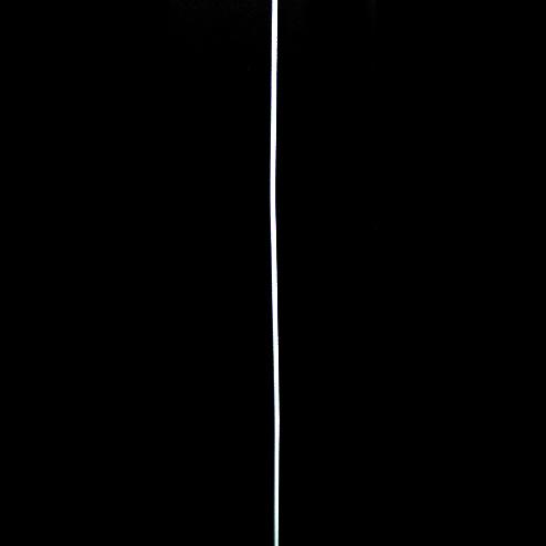 Jewellery steel cord 0.45 mm white