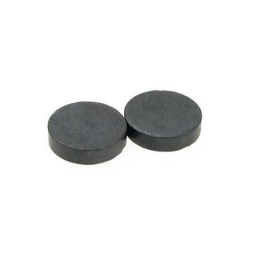 Магнит черен 12x3 мм -10 броя