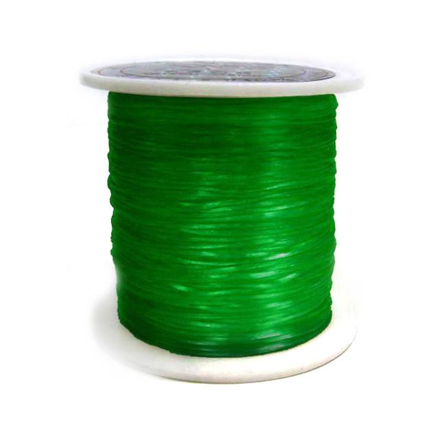 Silicon elastic 0,8 mm lumină verde ~ 11 metri