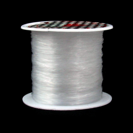 Jewelry Nylon Wire, Beading Thread, Roll Clear 0.20mm ~ 90m