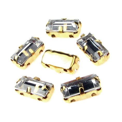 Crystals for sewing  5 x 10 mm