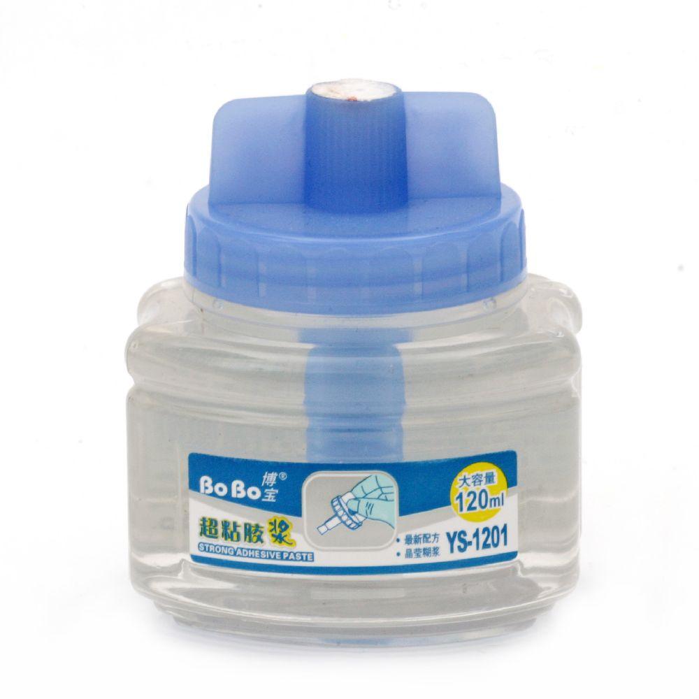 Κόλλα σιλικόνης διαφανής-120 ml