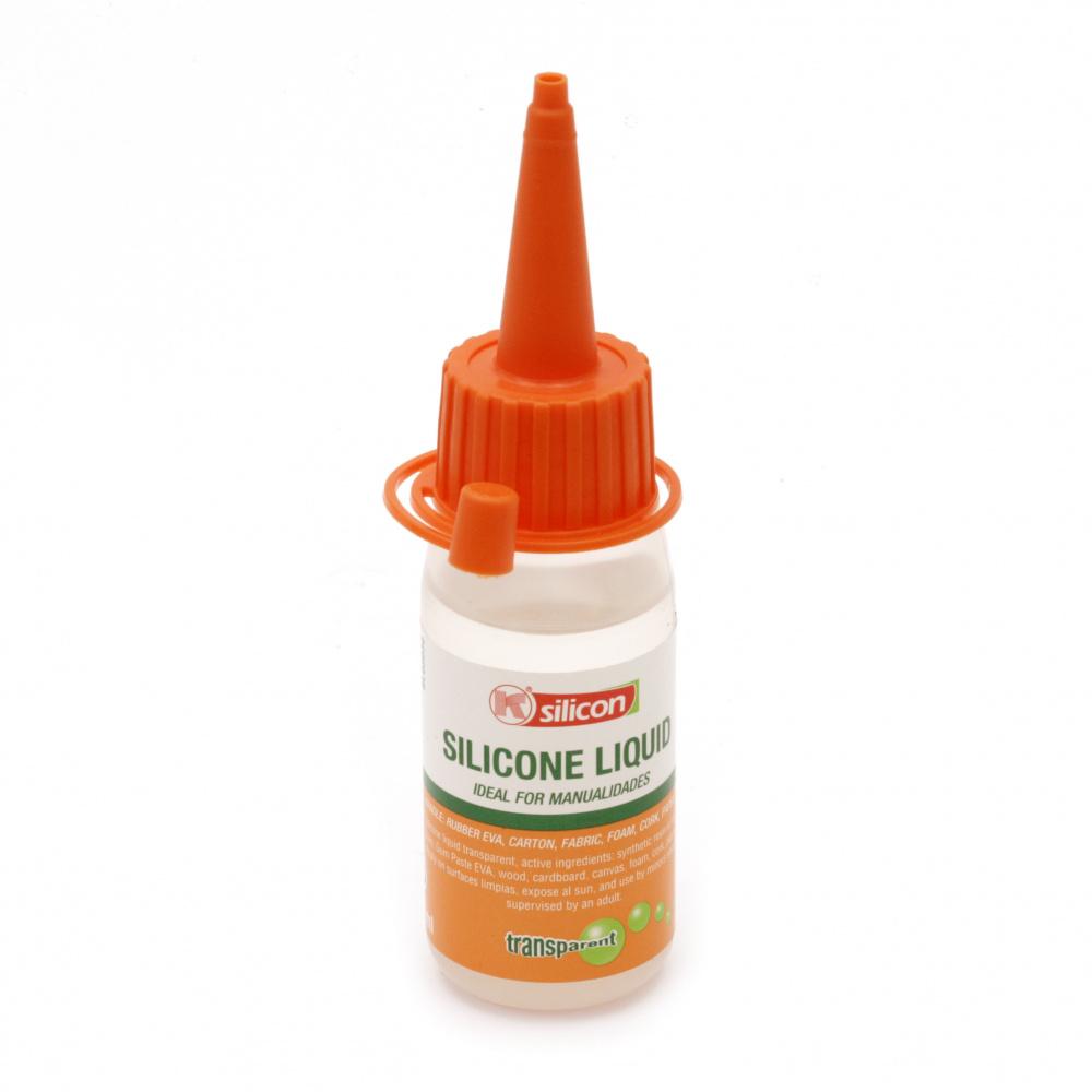 Κόλλα σιλικόνης διαφανής -30 ml