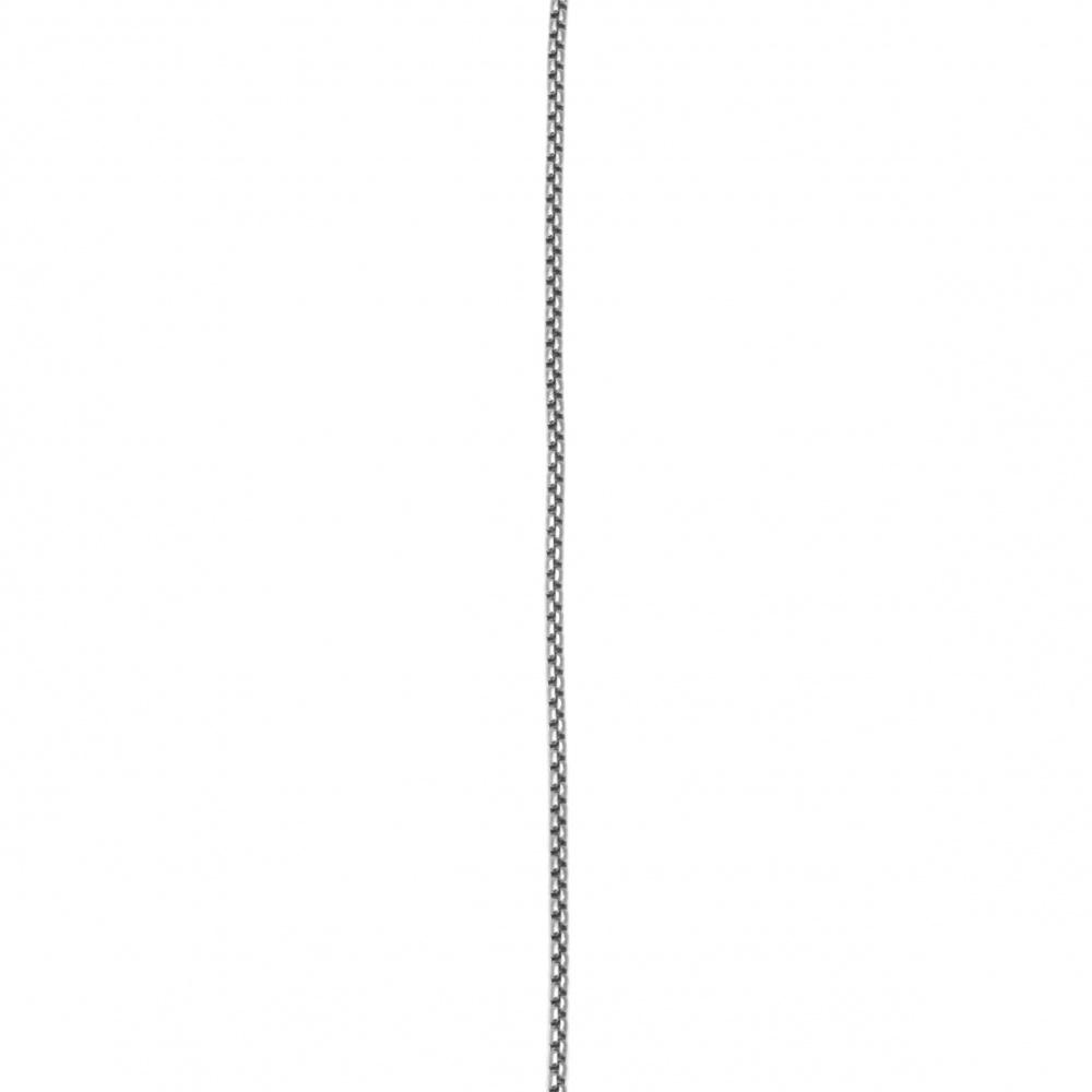 Αλυσίδα, Ατσάλι 316L 560x2 mm ασημί