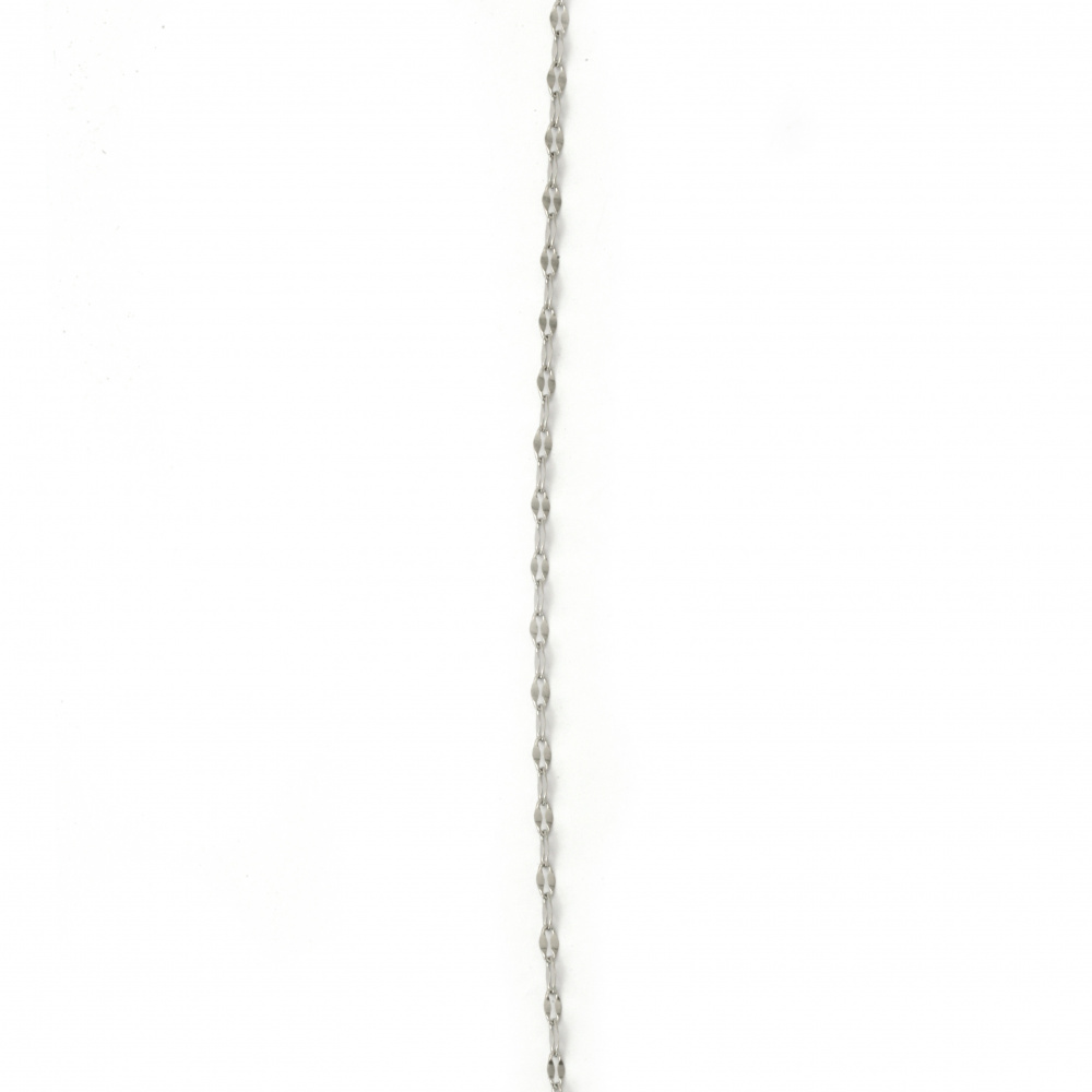 Αλυσίδα, Ατσάλι 316L 480x2 mm ασημί