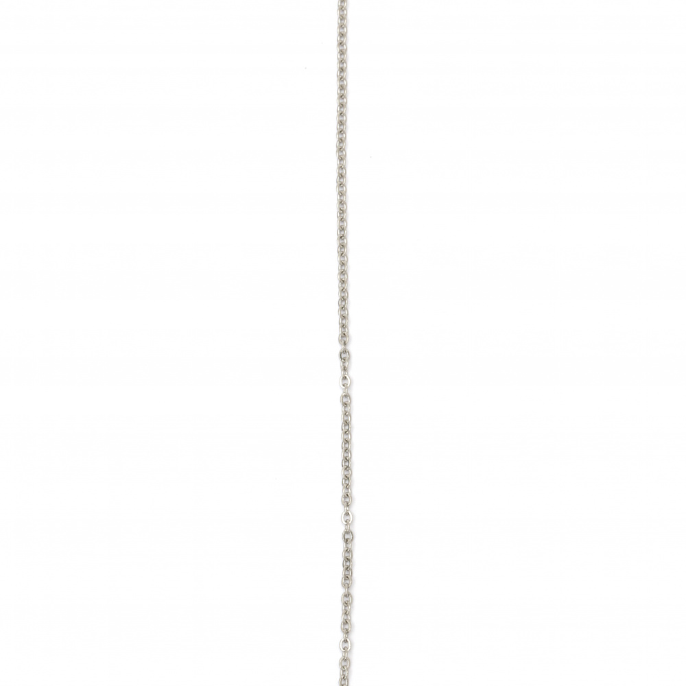 Αλυσίδα, Ατσάλι 304 508x2x1,5 mm ασημί