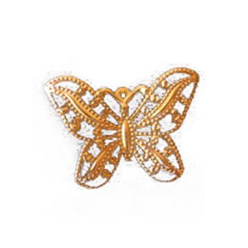 Metal butterfly 30 x 43 mm