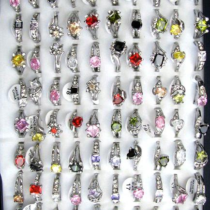 Cristale metalice inelare