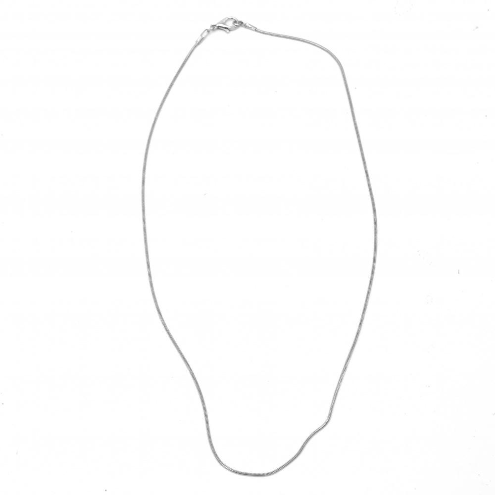 Αλυσίδα 28-30 cm λευκό