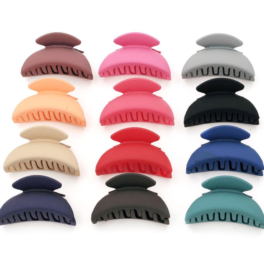 Шнола за коса 85 мм пластмаса матирана АСОРТЕ